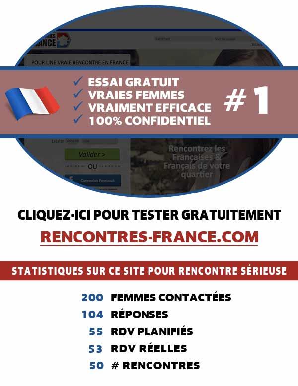 Aperçu du site web Rencontres-France
