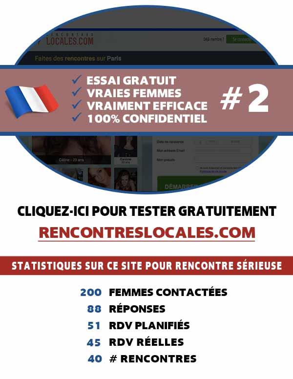 Aperçu du site web RencontresLocales